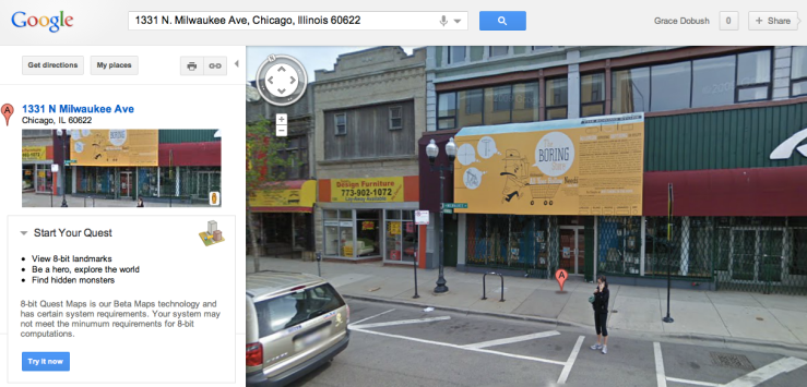 the boring store, chicago, store for spies